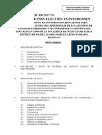 4.0 Especificaciones Tecnicas Instala. Elec. Int. Ie Jct