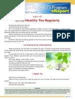 00329 HealingHabit47 Drink Healthy Tea Regularly