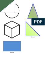 Circulo - Cubo - ilustraciones