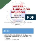 Equlíbrio 3D Estática