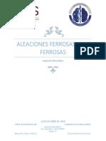 Aleaciones Ferrosas y No Ferrosas