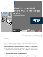 indicadores de violencia de género