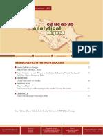 Caucasus Analytical Digest 21