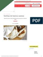 Procedimiento Elaborar Tortillas de Harina