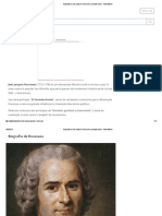 Biografia de Jean-Jacques Rousseau e Principais Obras - Toda Matéria