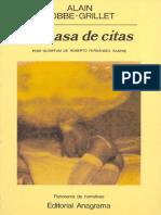 La Casa de Citas - Alain Robbe-Grillet