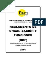 Rof Drtyc Piura 2016