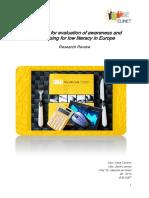 Report Desk Research Indicators Awareness Raising Literacy ELINET Team 8 14-9-14 DEF 6