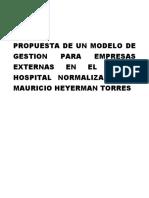 Modelo de Gestion Empresas Externas
