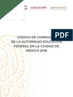 Codigo Conducta 2019N
