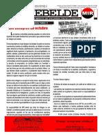 EL REBELDE - 24 de Octubre de 2019