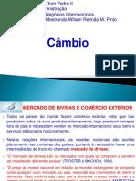 Aula 3 - Negócios Internacionais - Taxa de Câmbio 2019.2