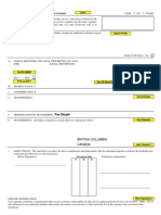 Form A Freehold Transfer Sample