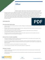 Chief Innovation Office Job Description
