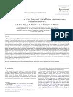 A Holistic Framework for Design of Cost-effective Minimum Water Utilization Network