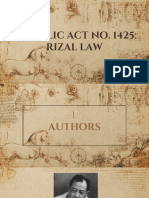 Rizal Law