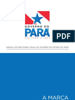 MANUAL DE IDENTIDADE VISUAL DO GOVERNO DO ESTADO DO PARÁ