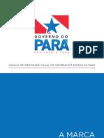 MANUAL DE IDENTIDADE VISUAL DO GOVERNO DO ESTADO DO PARÁ