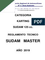 Reglamento Técnico SUDAM MASTER 2019