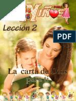 Leccion 2.Estudios Biblicos Para Niños