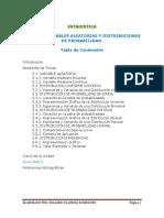Variable Aleatoria y Distribuciones de Probabilidad