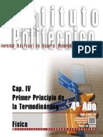 7402-19 FÍSICA Primer Principio de La Termodinámica