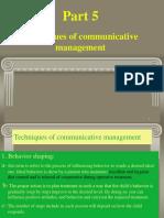 (techniques of communication management).ppt