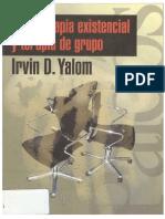 Psicoterapia Existencia y Terapia de Grupo - Yaloom