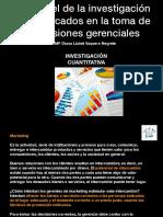 El Papel de La Investigación de Mercados en La Toma de Decisiones Gerenciales
