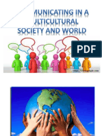 Lesson 2 Communicating in a Multicultural Society and World