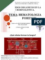 Clase de Hematologia Forense