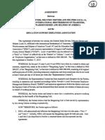 ESEA Teamsters Agreement
