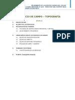 Informe Topografico Villa Rica