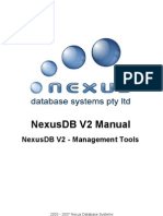 NexusDB V2 - Management Tools