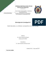 René Descartes y su método; comparativa con Mario Bunge..docx