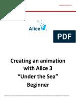 Alice Under the Sea Beg