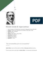Biografias de Hitler