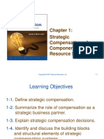 PowerPoint Chapter 1 -- Strategic Compensation 9e