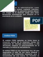 Análisis FODA y Matriz AODF