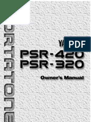 PSR420E | Synthesizer | Bass Guitar