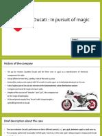 Ducati Case