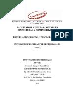 Bryand Informe de Practicas Profesional
