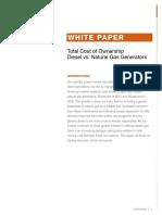 Generac Industrial Power Whitepaper Total Cost of Ownership Diesel v Natural Gas