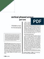 HF Vertical Phased Arrays [Gehrke 1983]