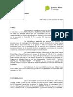 ResGral 017 19 Concesión Regimen Subzona Franca TANGO e IT PARK