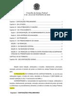 Resolução - CJF - 01-2008