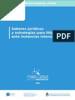 Saberes Juridicos Estrategias Litigar Instancias Internacionales.1