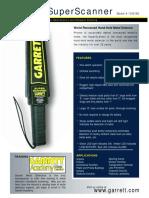 Anmart Metal Detector Manual Garrett 1165180