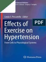 Efectos del ejercicio físico en la hipertensión