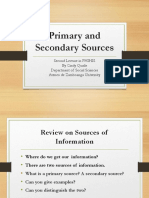 Primary and Secondary Sources.pptx